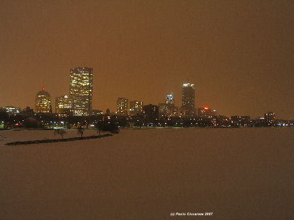 Boston winter
