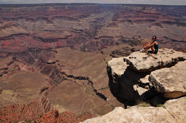 Sheede at the Grand Canyon by Paolo Ciccarese