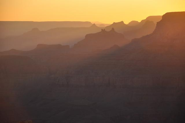 Sunset at the Grand Canyon by Paolo Ciccarese