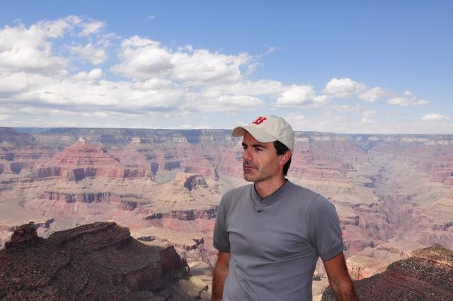 Paolo Ciccarese at the Grand Canyon