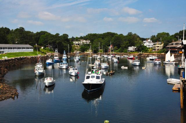 Perkins Cove, Ogunquit by Paolo Ciccarese