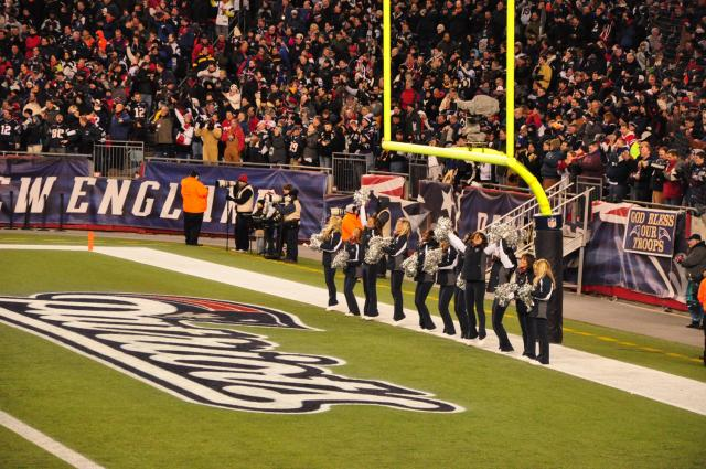 Patriots cheerleaders by Paolo Ciccarese