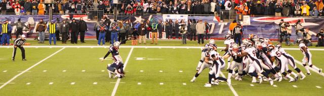 Patriots field goal by Paolo Ciccarese