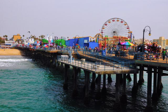 Santa Monica Pier by Paolo Ciccarese