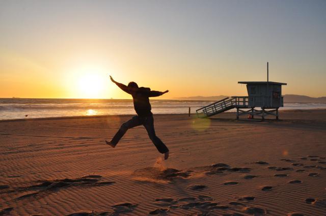 Paolo on Manhattan Beach, California