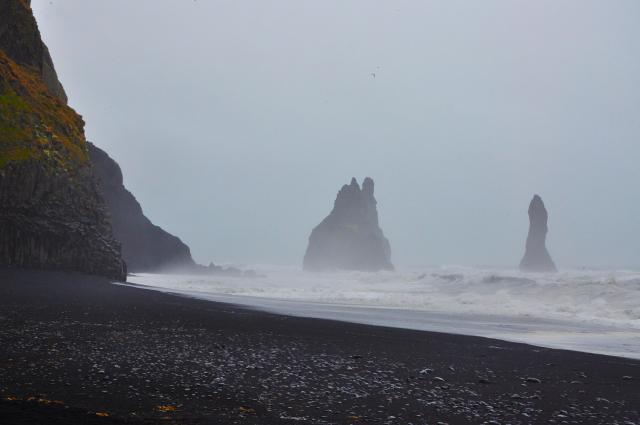 Black Sands in Vik, Iceland by Paolo Ciccarese