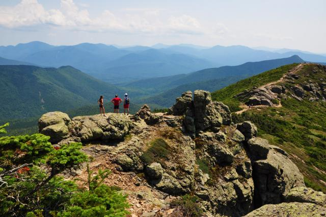 Hiking the White Mountains with Paolo, Sheede, Andrea and Emanuele by Paolo Ciccarese