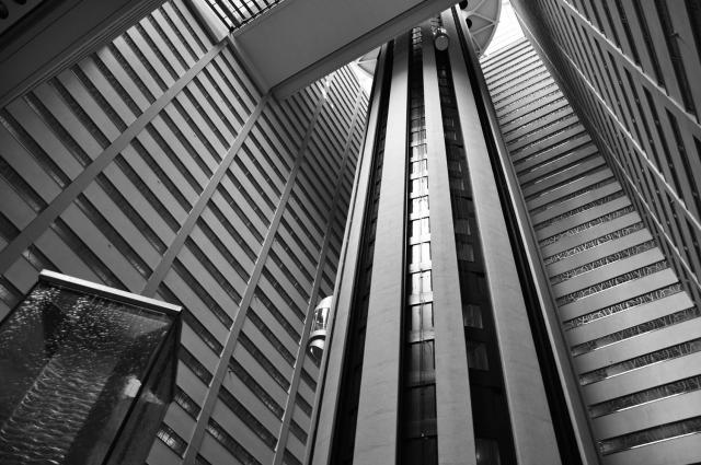 Inside Marriott Marquis by Paolo Ciccarese