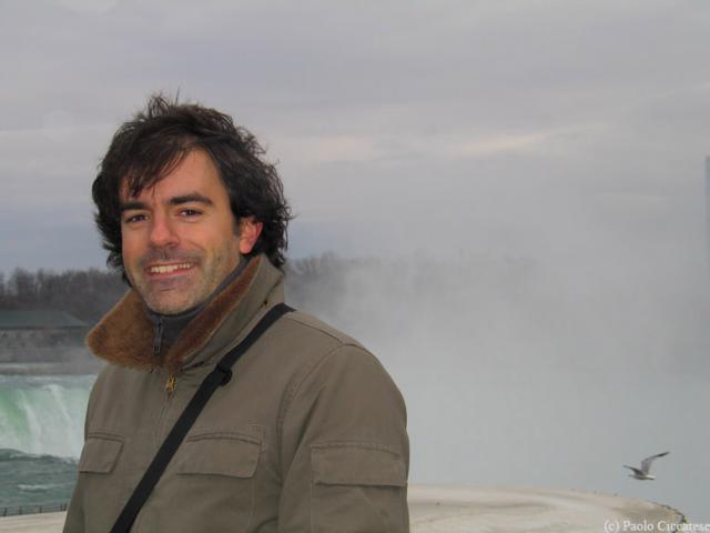 Paolo Ciccarese at Niagara Falls
