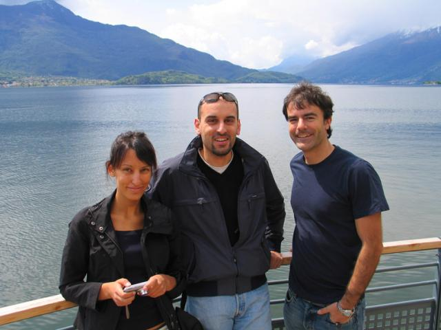Paolo Ciccarese and my cousins Andrea Bercelli, Silvia Bercelli