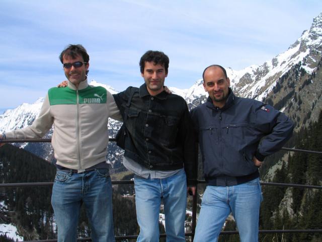 Paolo Ciccarese, Emanuele, Andrea