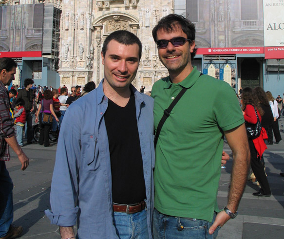 Fabio Bossi and Paolo Ciccarese