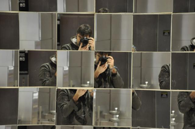 Paolo Ciccarese Mirrors Logan Airport Boston