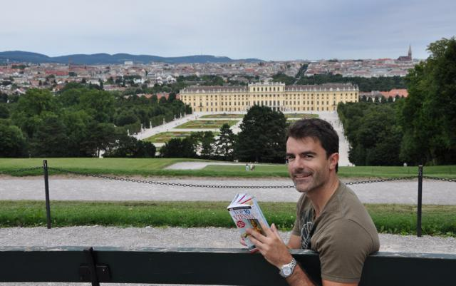 Paolo Ciccarese in Schonbrunn