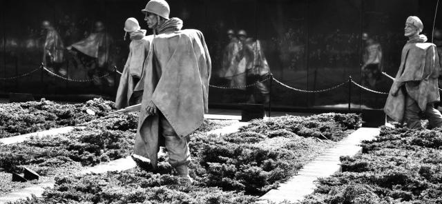 Korean War Veterans Memorial in Washington DC (by Paolo Ciccarese)