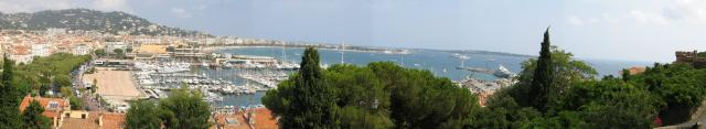 Cannes Panoramic View