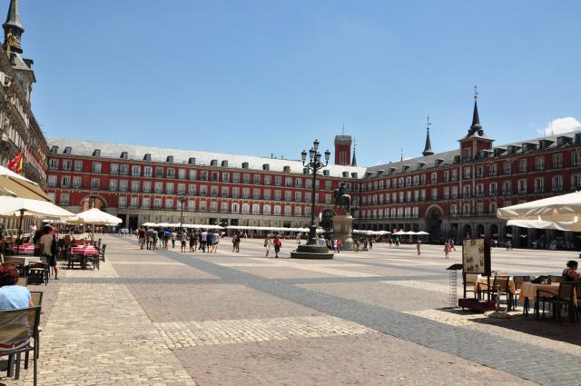 Madrid, Placa Mayor by Paolo Ciccarese