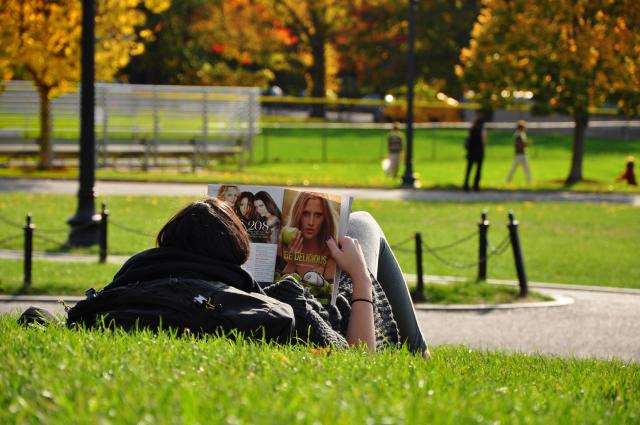 Reading Boston Common (by Paolo Ciccarese)